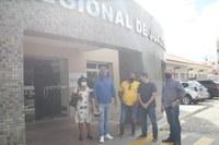 Denúncia leva Comissão de Saúde da Câmara ao Hospital Regional de Juazeiro