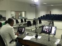 Em sessão virtual Câmara aprecia projetos de vereadores