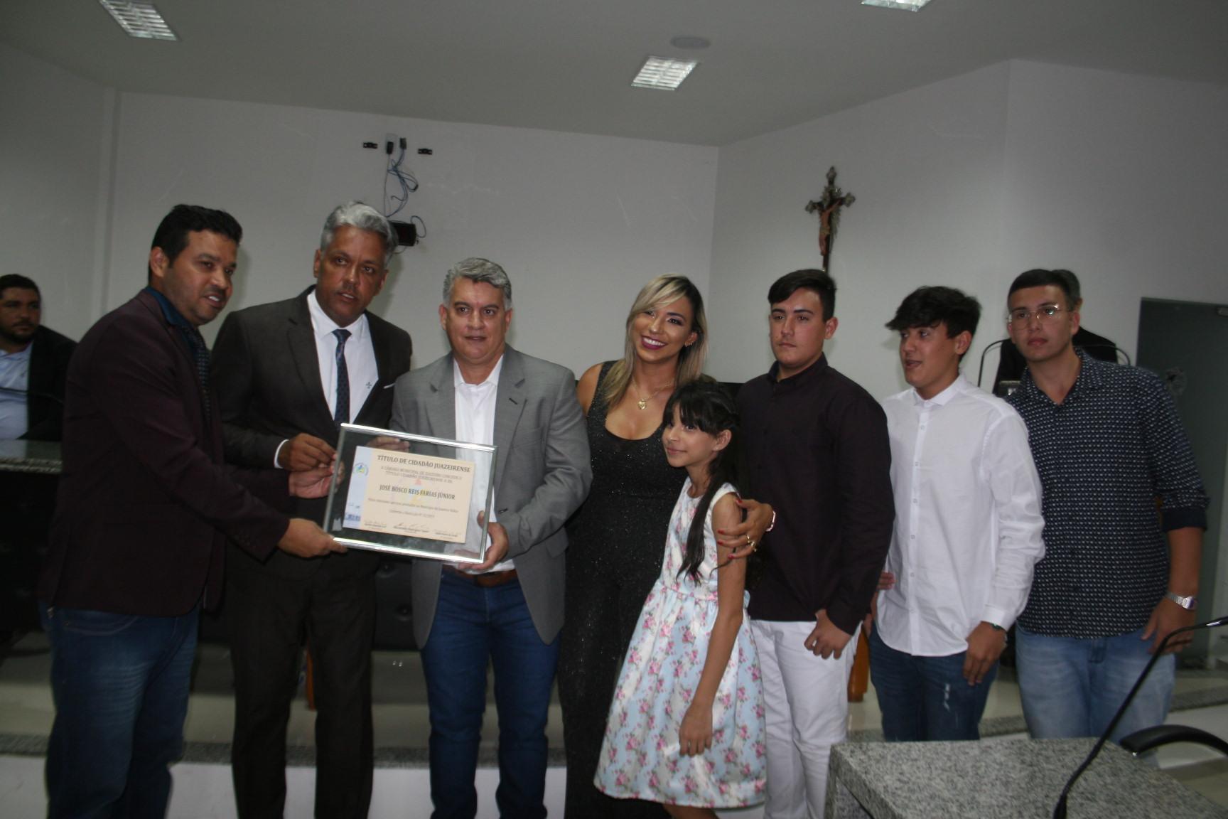 Produtor rural recebe título de cidadão juazeirense