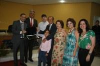 Professor Rivas e Professora Graciosa são homenageados pela Câmara de Juazeiro
